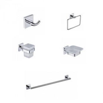 Perk Qubix Series Bath Accessories Set 5 Pcs-1