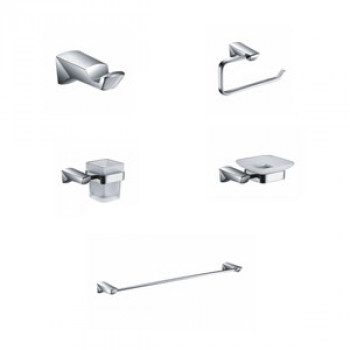 Perk Sumberg Series Bath Accessories Set 5 Pcs-1