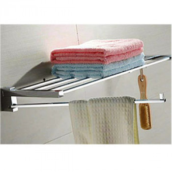 Perk Towel Rack - Swivel Bar and Hook