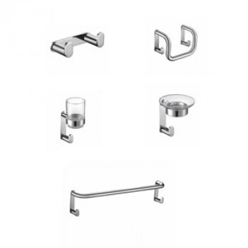 Perk Zado Series Bath Accessories Set 5 Pcs-1
