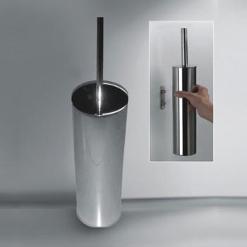 Perk Brass Toilet Brush Holder Wall Mounting & Floor