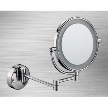 Perk Round Light Wall Mirror