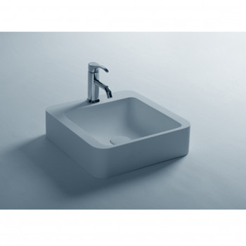 Dooa Solid Surface Wash Basin Square