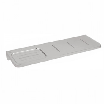 Perk Solid Soap Dish with Shelf