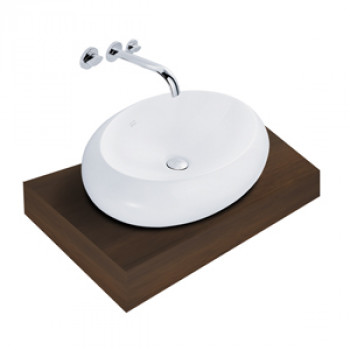 American Standard Counter Top Wash Basin - Stone Vessel