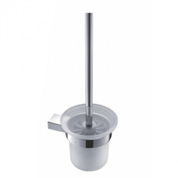 Perk Toilet Brush Holder Glass