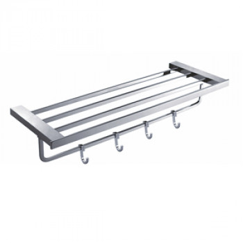 Perk Towel Rack With Four Hook 600mm