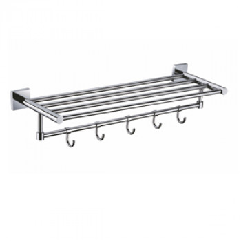 Perk Towel Rack With Five Hook 600mm