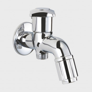 Aquel Two Way Toilet Tap (Bib Cock) Dual Control GR 06-23