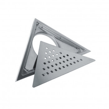 Viking Corner Triangle Drainer with Cockroach Trap