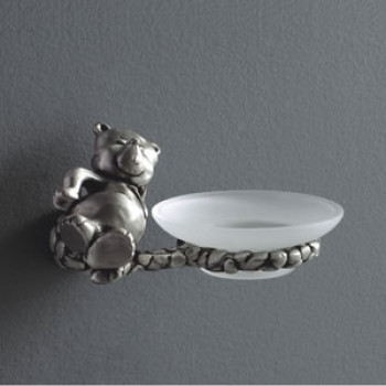 Viking Soap Dish Bear Brass Made