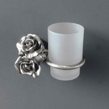 Viking Tumbler Holder Flower Brass Made