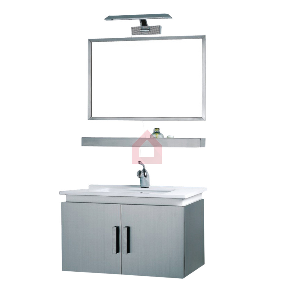 dooa bathroom cabinet with wash basin vanity set