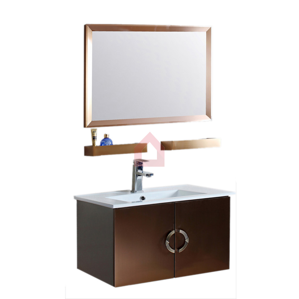 Dooa bathroom cabinet with wash basin vanity set dsa for Bathroom wash basin with cabinet
