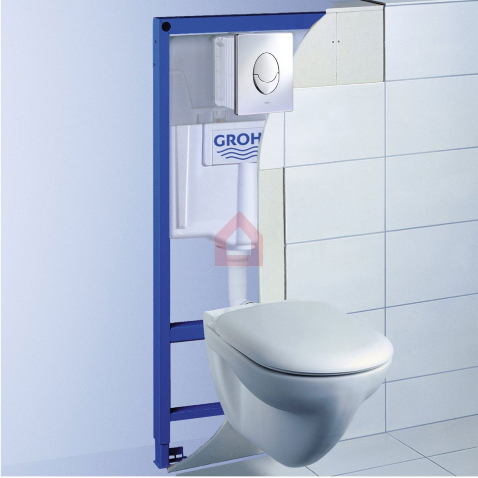 Grohe Rapid SL 1.13m WC Frame With Plate - Buy Tanks & Cisterns ...