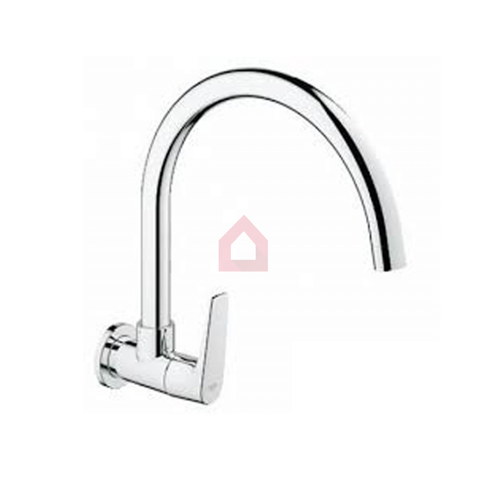 Grohe Wall Mounted Sink Tap With Swivel Spout - Buy Taps and Faucets ...