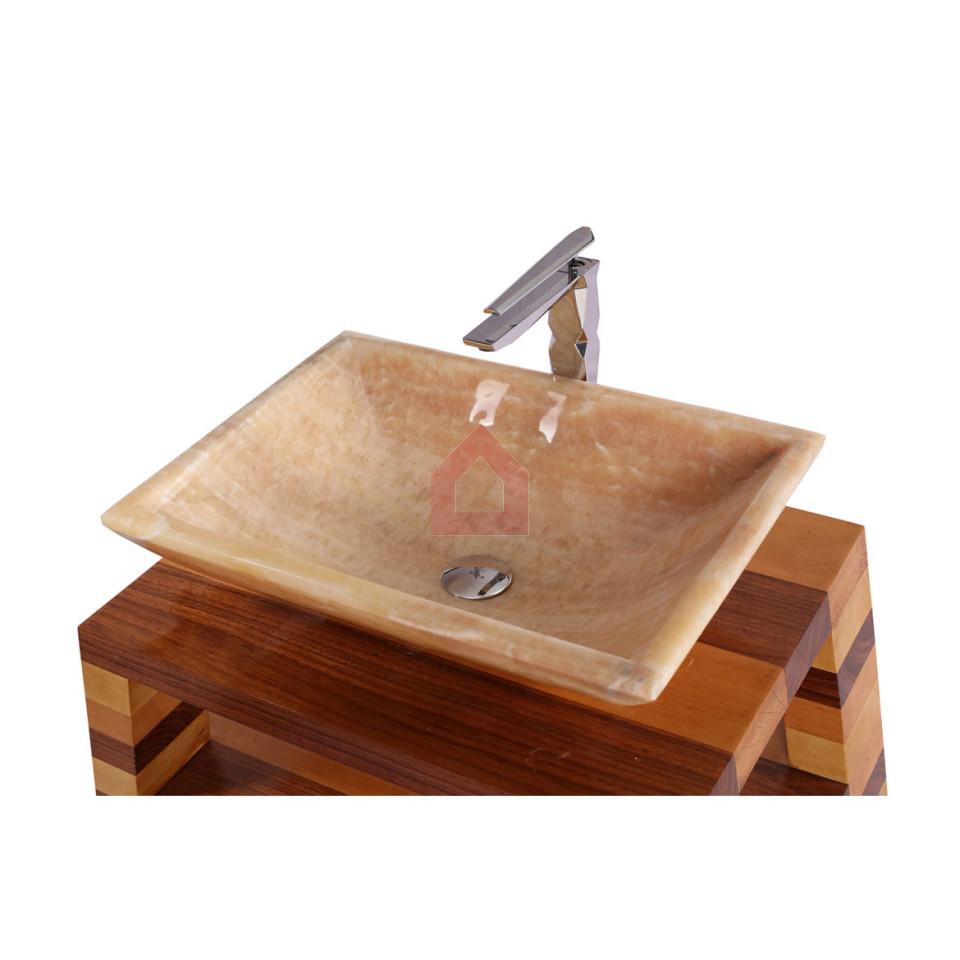 Dooa Onyx Counter Top Wash Basin Rectangle Shape - Buy Onyx Sinks ...