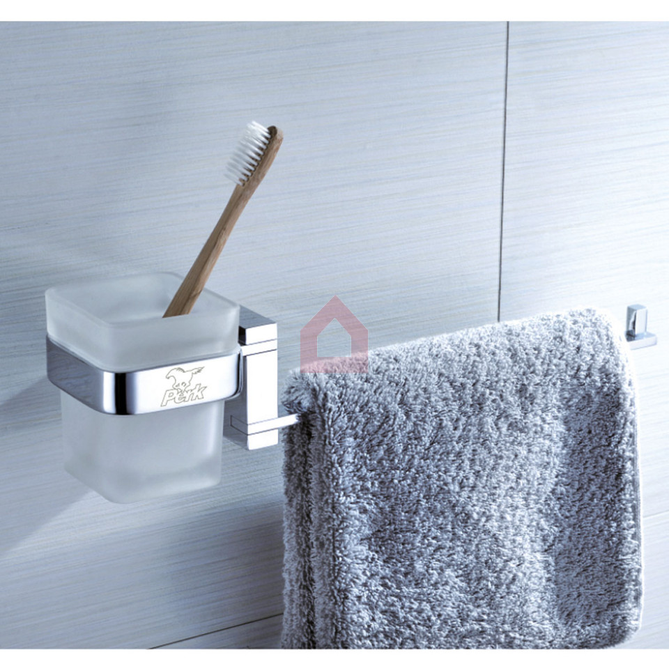 Shop for bathroom accessories - Perk Tumbler Holder With Napkin Ring